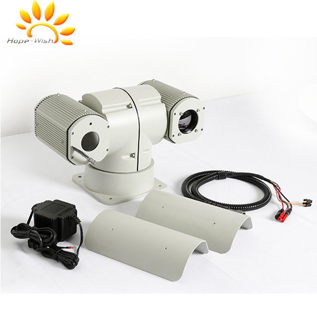 Long Range Infrared Dual Thermal Camera With IP Surveillance System