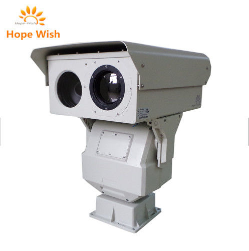Railway Surveillance Affordable Thermal Imaging Camera With Optical Zoom Lens